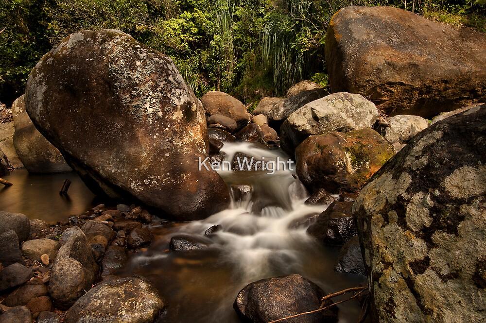 Kaiate Boulders by Ken Wright