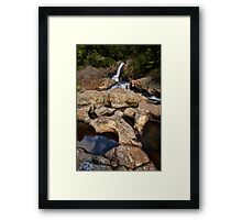 Kaiate sculptured rocks Framed Print