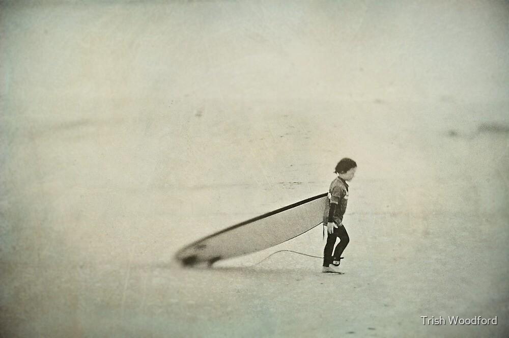 Seaspray III by Trish Woodford
