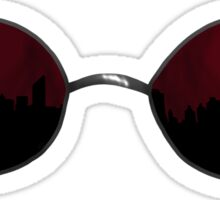 Matt's Glasses Sticker