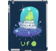 Volcano playing organo! iPad Case/Skin