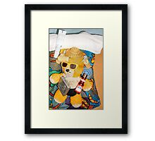 Can You Guess Where He Is Yet? Framed Print