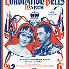 CORONATION BELLS (vintage illustration) by ART INSPIRED BY MUSIC