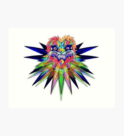 Crystal Head Art Print