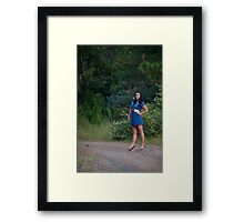 Sweet 'lil Hitchhiker Framed Print