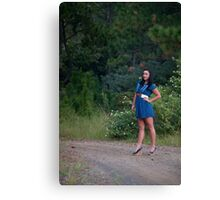 Sweet 'lil Hitchhiker Canvas Print