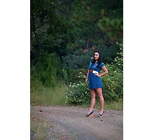 Sweet 'lil Hitchhiker Photographic Print