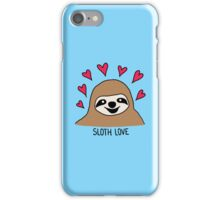 Sloth Love  iPhone Case/Skin
