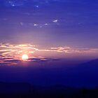 Sunrise in Spain by Adrian Harvey