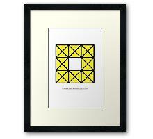 Design 55 Framed Print