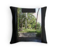 Coffee Plantation, Cuba Throw Pillow