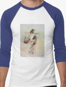 Woman in The Road Men's Baseball ¾ T-Shirt
