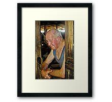 JOHN BERIDA SHEARER Framed Print