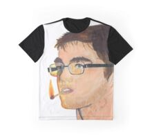 Portrait of a Doodling Serf Graphic T-Shirt