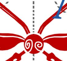 Official Victorian Quidditch Association T-Shirt Sticker