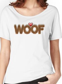 WOOF Women's Relaxed Fit T-Shirt