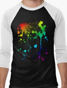 Pride Paint Men's Baseball ¾ T-Shirt