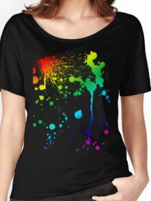 Pride Paint Women's Relaxed Fit T-Shirt