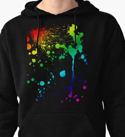 Pride Paint Pullover Hoodie