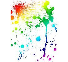 Pride Paint Photographic Print