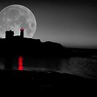 Nubble Moon by EmilyJFineArt