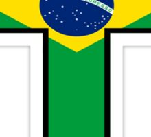 Olympic Countries - Brazil Sticker