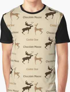 Chocolate Moose, Cookie Doe Graphic T-Shirt