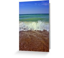 Sky Water and Earth Greeting Card