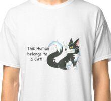 Cat Ownership (Tuxedo) Classic T-Shirt