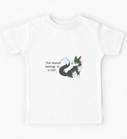 Cat Ownership (Tuxedo) Kids Tee
