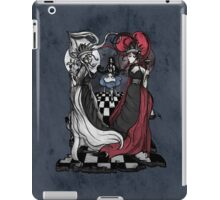 Alice and her Queens: The Checkered Board iPad Case/Skin