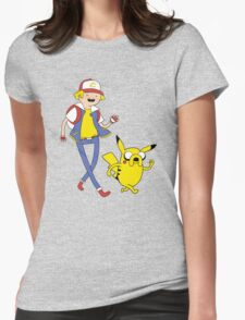 Pocket companion Womens Fitted T-Shirt