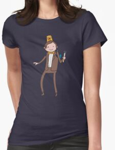 Who are you? Womens Fitted T-Shirt
