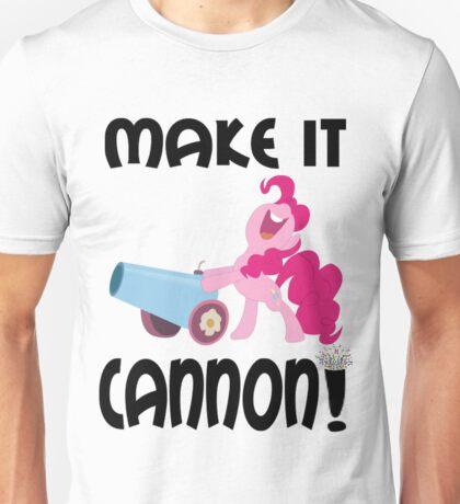 make it CANNON Unisex T-Shirt