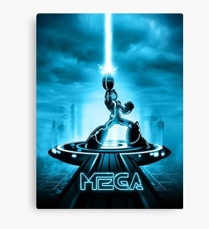 MEGA - Movie Poster Edition Canvas Print