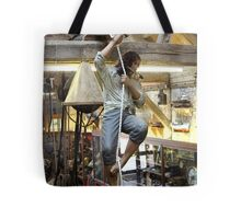 Sailin', knifin' an' screamin' — that be how ye sail. Tote Bag