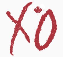 The Weeknd - XO (Canada Flag) by SkinnyJoe