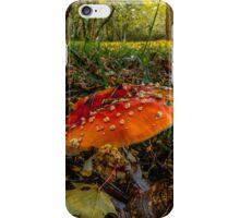 Wild Mushroom #33432 iPhone Case/Skin