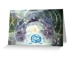 Birth of The 5d- Earth Greeting Card