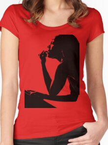 Contemplation Women's Fitted Scoop T-Shirt