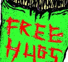 FREE.....hugs? Sticker