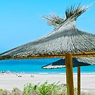 Beach umbrellas by Vac1