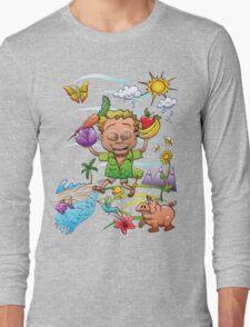 Growing Happy Kids Long Sleeve T-Shirt
