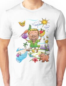 Growing Happy Kids Unisex T-Shirt
