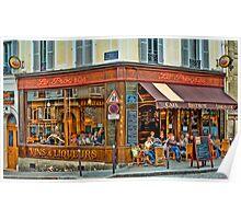 Cafe Le Progres Poster