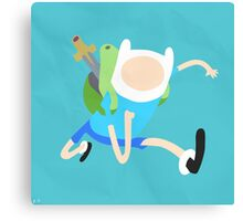 Finn The Human (Simplistic) Canvas Print