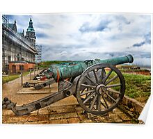 HDR cannons Poster