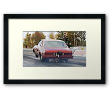 Race Junk Framed Print