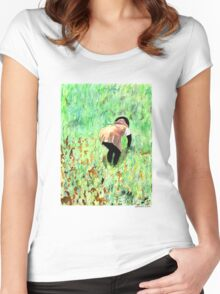 Rice Paddy Women's Fitted Scoop T-Shirt
