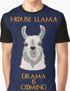 House Llama Graphic T-Shirt